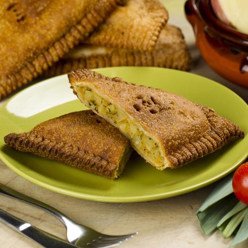 Zucchini, Potato & Leek Triangle