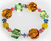 Swarovski Crystal Chunky Stackable Bracelet - Aruba Collection