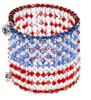 Designer American Flag Jewelry by Karen Curtis NYC