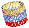 Venezuela Bracelet for Olympics. Swarovski Crystal Olympic Jewelry