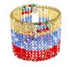 Swarovski Crystal Bracelet of Venezuelan Flag