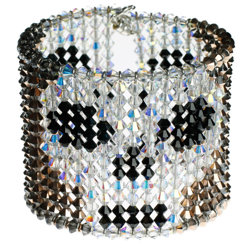 skull cuff bangle bracelet