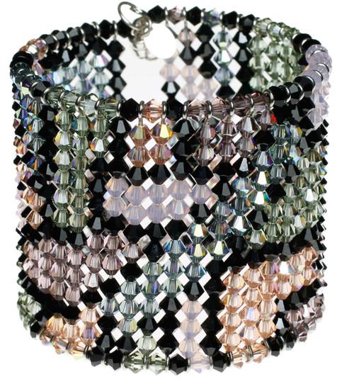 color block pattern bracelet