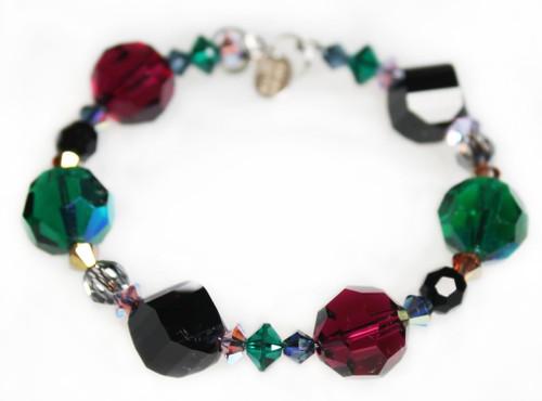 Swarovski Crystal Chunky Stackable Bracelet - City Chic