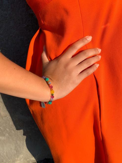Swarovski Crystal Limited Edition Candy Stackable Bangle Bracelet