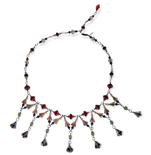 Swarovski Crystal 14k Gold Filled Signature Divine Style Statement Necklace  - Glam Rock