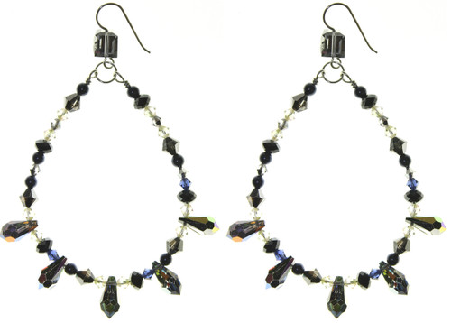 Extra Large Swarovski Crystal Chandelier Earrings.  Can you handle the Glamour?