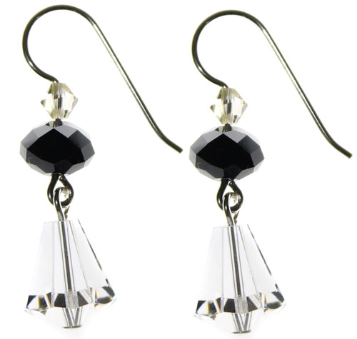 DROP EARRINGS - CRYSTAL COSMIC