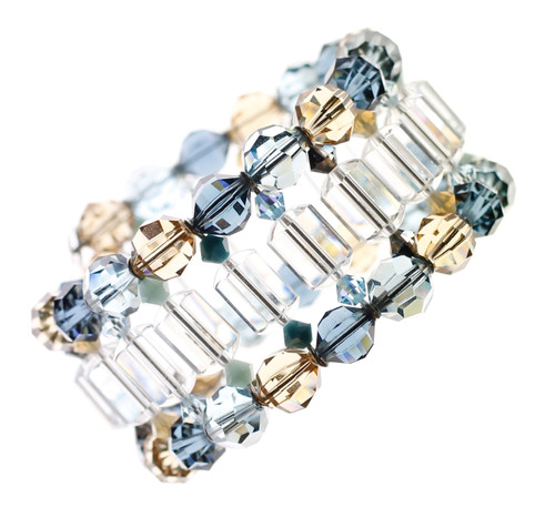 NYC jewelry designer Karen Curtis' resort collection cuff bracelet