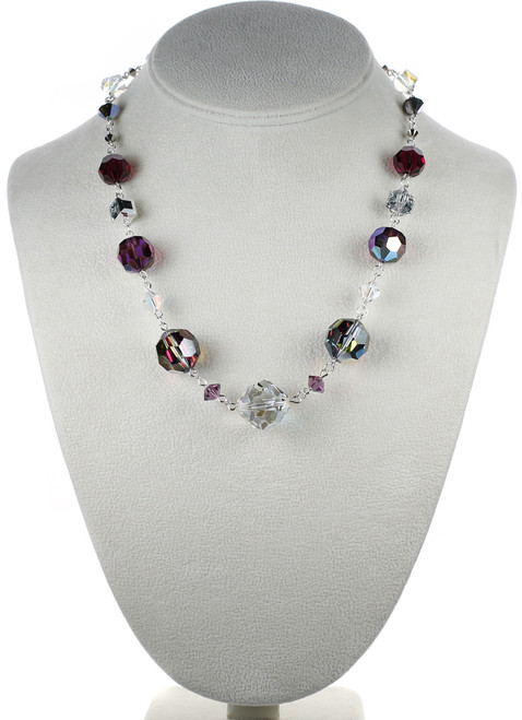 Beautiful Swarovski crystal design - roaring 20's jewelry collection by Karen Curtis