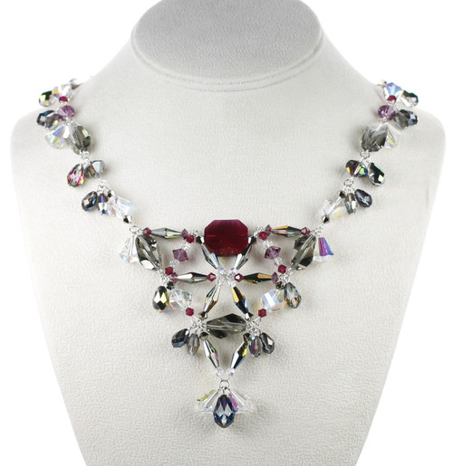 New Necklace by Karen Curtis NYC incorporating rare Swarovski crystal