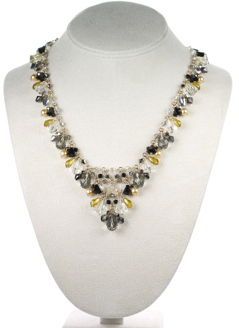 Gatsby V-Necklace by The Karen Curtis Jewelry Company in New York.