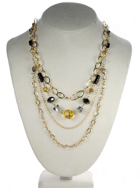 Hand made crystal necklace by Karen Curtis NYC