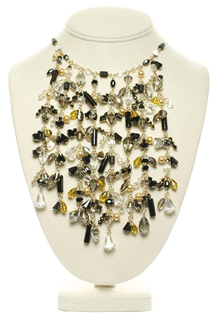 One of a kind crystal necklace by The Karen Curtis Jewelry Company in NYC