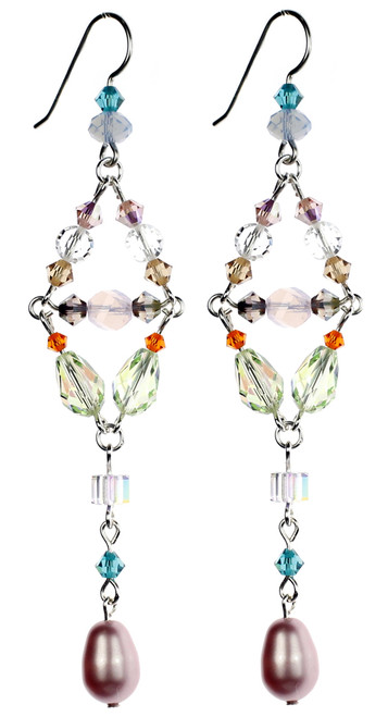 Divine Chandelier Earrings - Carousel Collection