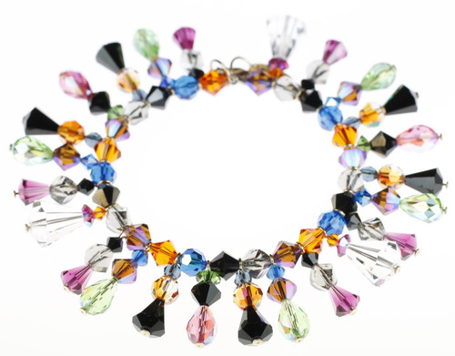 Crystal bracelet made by The Karen Curtis Company in NYC.