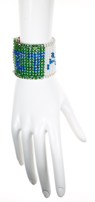 designer crystal jewelry for olympics and any time you need to cheer on Italy!