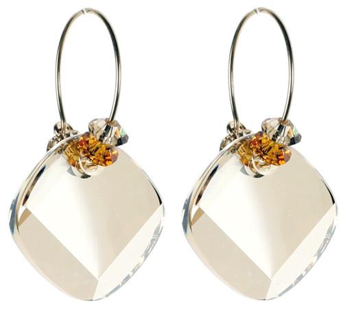Topaz November Birthstone Earrings
