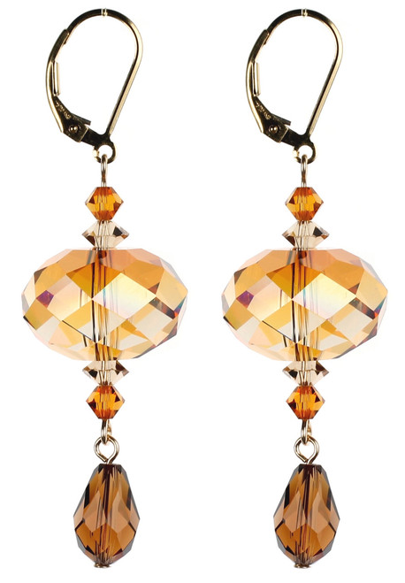 Topaz Chunky Earrings