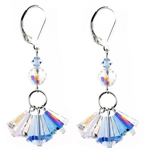 crystal earrings by karen curtis