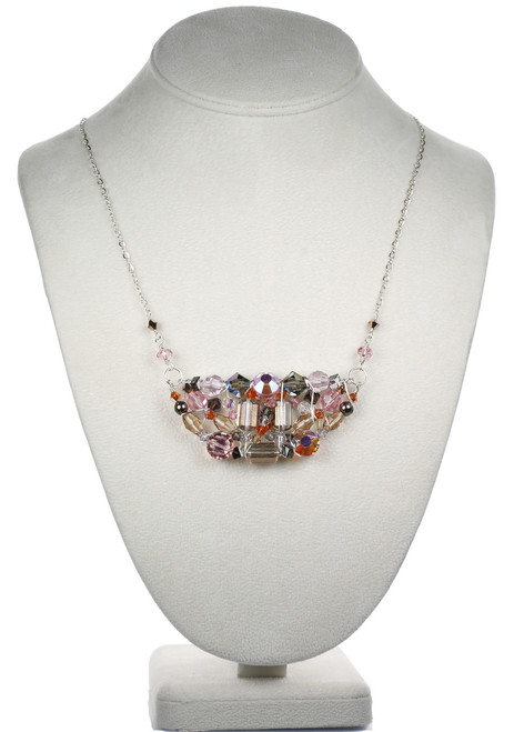 Crystal Necklace by Karen Curtis
