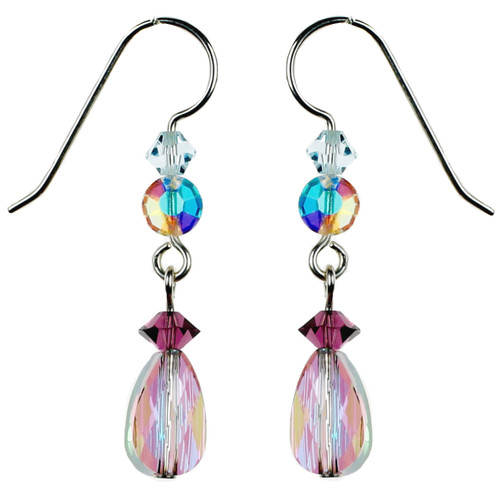 New Paradise Shine Crystal Earrings - Seaside Jewelry