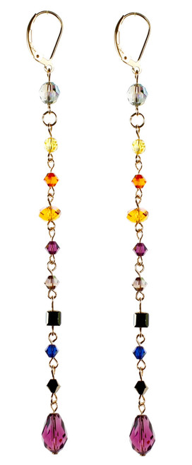 Shoulder Duster Earrings - City Nights
