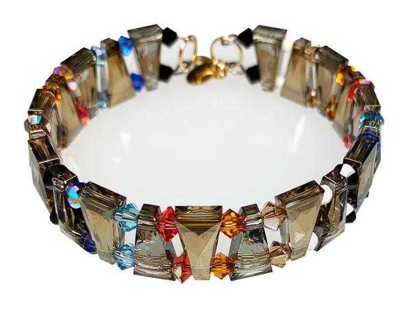Limited Edition Swarovski Crystal Elegant Western Cuff Bracelet - Urban Cowgirl