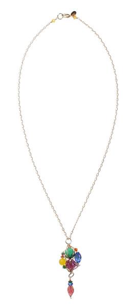 14K Gold Filled Swarovski Crystal Necklace - Confectionary