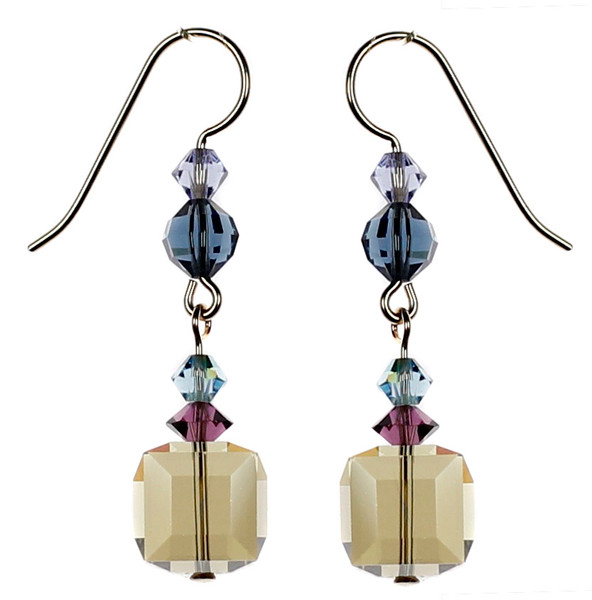 Sexy crystal earrings for any occasion. Hand made in NYC by Karen Curtis