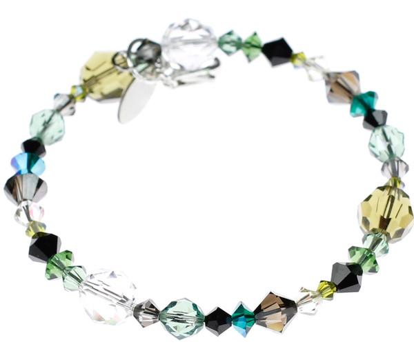 Swarovski Crystal stackable bangle bracelet by Karen Curtis