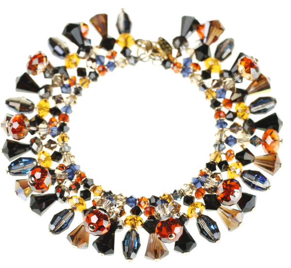 This Swarovski Crystal Bracelet is the perfect statement piece for any occasion