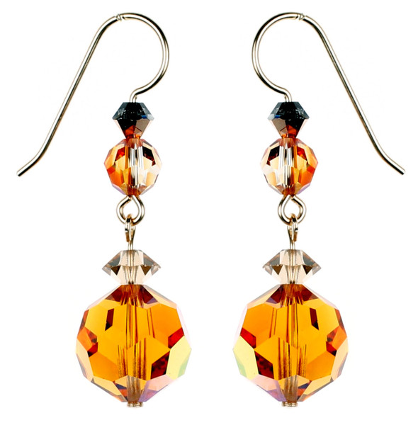 Amazing Topaz Earrings by Karen Curtis NYC