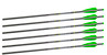 SYKD Hunt 20-Inch XBow Bolts Universal Crossbow Bolts with Half Moon Nocks