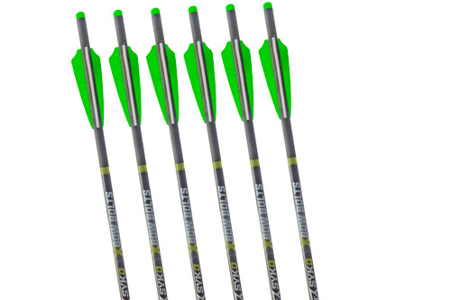SYKD Hunt 22-Inch XBow Universal Crossbow Bolts with Half Moon Nocks
