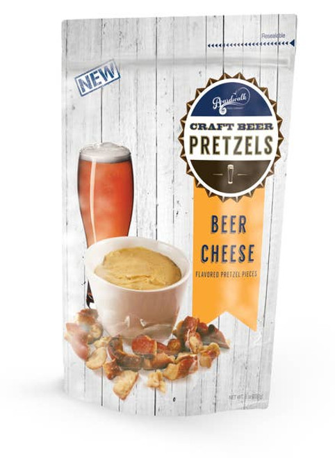 Beer Cheese Flavored Pretzel Pieces