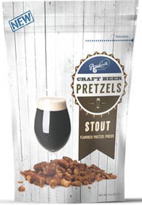 Stout Beer Flavored Pretzel Pieces