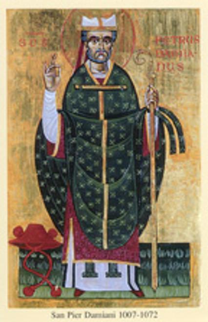 St. Peter Damian Icon Postcard