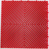 """Ribtrax Pro STANDARD """"Racing Red"""" Tiles (6-Pack) SALE PRICE ONLY $4.20 PER SQ FT Tile Size: 15 3/4"""" x 15 3/4"""" (1 Tile = 1.72 sq ft)"""