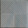 "Ribtrax ""Pearl Silver"" SALE PRICE ONLY $3.96 PER SQ FT Tile Size: 15 3/4"" x 15 3/4"" (1 Tile = 1.72 sq ft)"