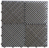 "Ribtrax ""Slate Grey"" SALE PRICE ONLY $3.96 PER SQ FT Tile Size: 15 3/4"" x 15 3/4"" (1 Tile = 1.72 sq ft)"