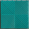 """Ribtrax """"Island Blue"""" SALE PRICE ONLY $3.96 PER SQ FT Tile Size: 15 3/4"""" x 15 3/4"""" (1 Tile = 1.72 sq ft)"""