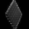 "Jet Black DiamondTrax Home - SALE PRICE ONLY $3.96 PER SQ FT Tile Size: 12"" x 12"""