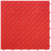 "Racing Red DiamondTrax - SALE PRICE ONLY $3.96 PER SQ FT Tile Size: 15.75"" x 15.75"" x .75 (1 Tile = 1.72 sq ft)"