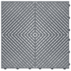 """""""Slate Grey"""" RibTrax (RT) Smooth by SwissTrax - SALE PRICE ONLY $3.96 PER SQ FT Tile Size: 15.75"""" x 15.75"""" x .75 (1 Tile = 1.72 sq ft)"""