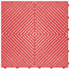 """""""Racing Red"""" RibTrax (RT) Smooth by SwissTrax - SALE PRICE ONLY $3.96 PER SQ FT Tile Size: 15.75"""" x 15.75"""" x .75 (1 Tile = 1.72 sq ft)"""