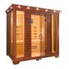 TheraSauna TS8454 Far Infrared Sauna (Pictured in Mahogany Finish)