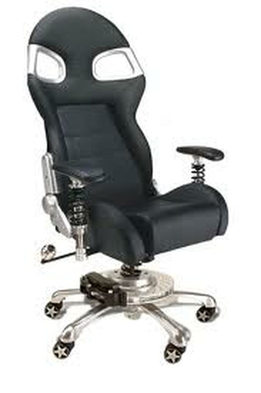 Intro-Tech Automotive PitStop Formula One Series Chair (FO8000B)