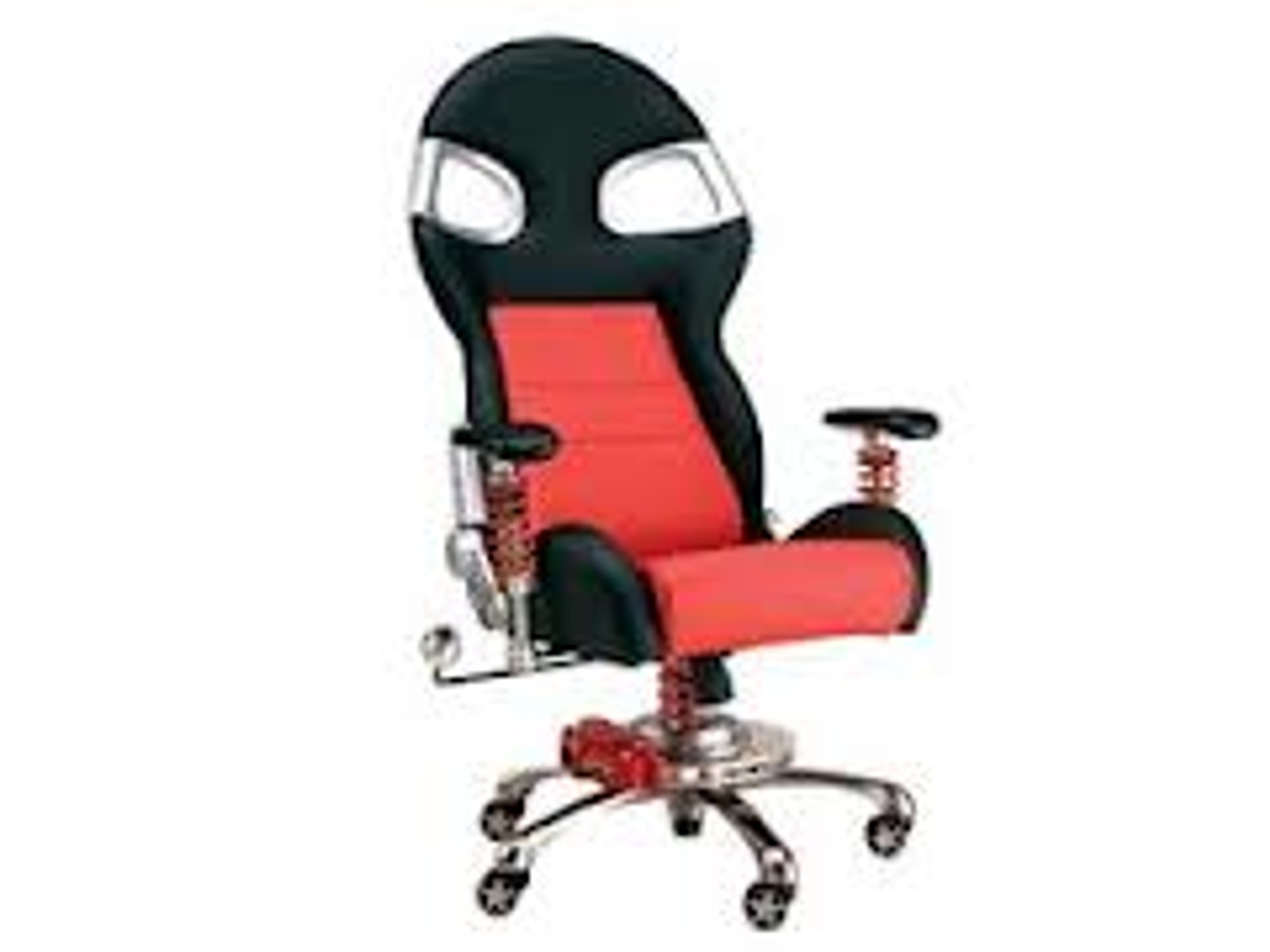 Intro-Tech Automotive PitStop Formula One Series Chair (FO8000R)