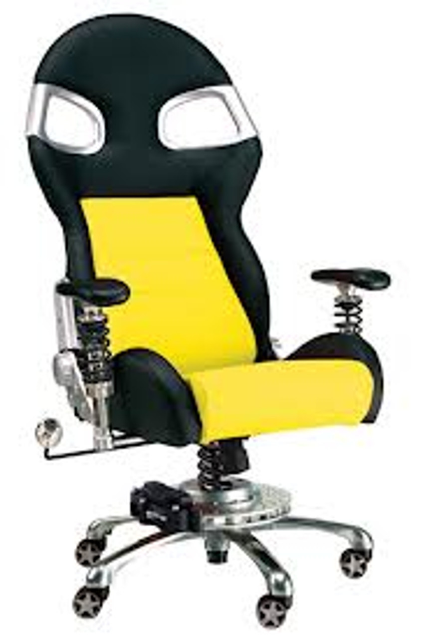 Intro-Tech Automotive PitStop Formula One Series Chair (FO8000Y)